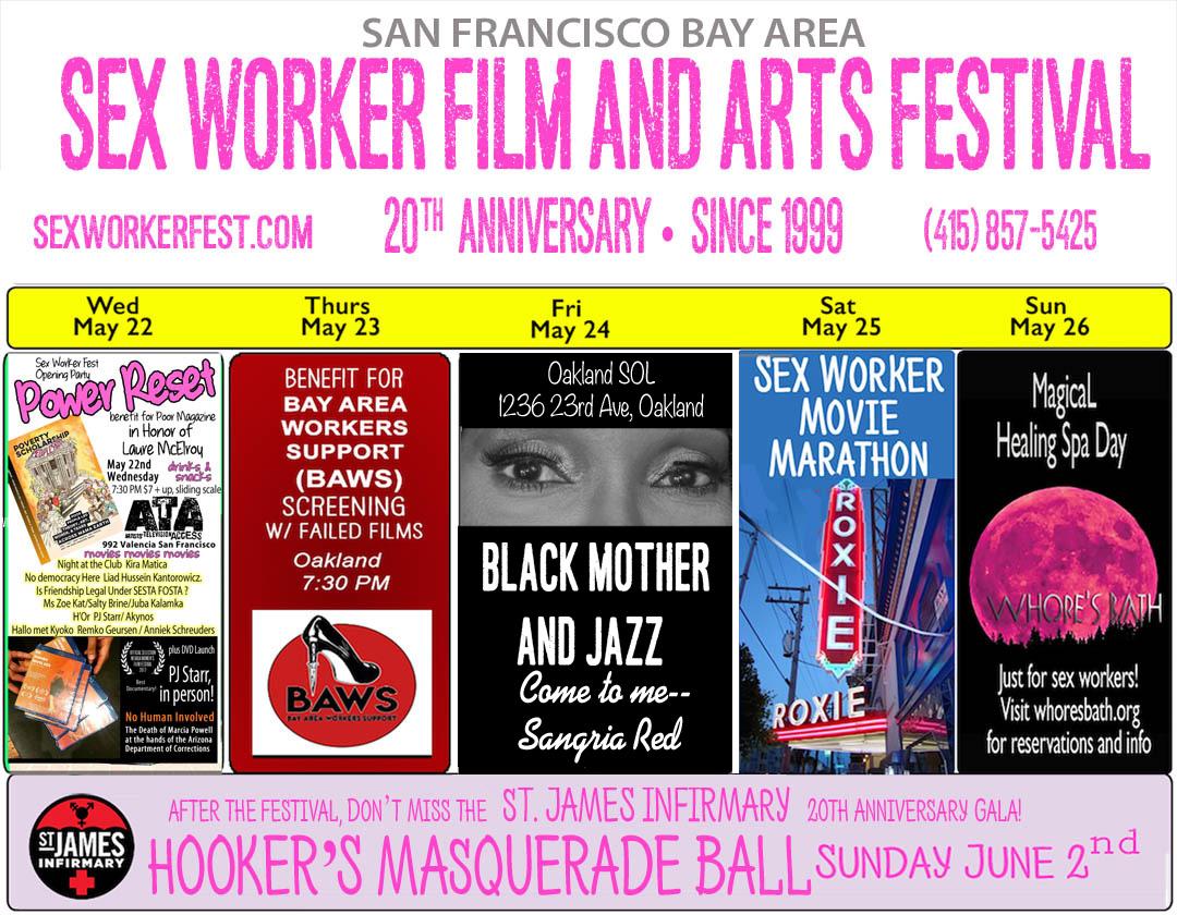 Sex Worker Fest calendar
