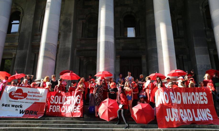 Aussie sex workers