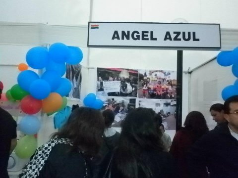 Asociación Civil Angel Azul sign