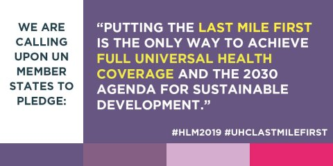UHC Put the Last Mile First HLM2019